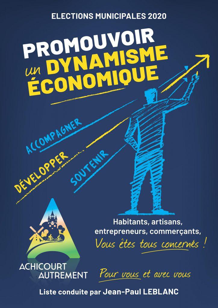3eme tract pour la campane électorale 2020 de Achicourt Autrement