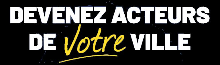 Slogan d'Achicourt Autrement pour les municipales de2020