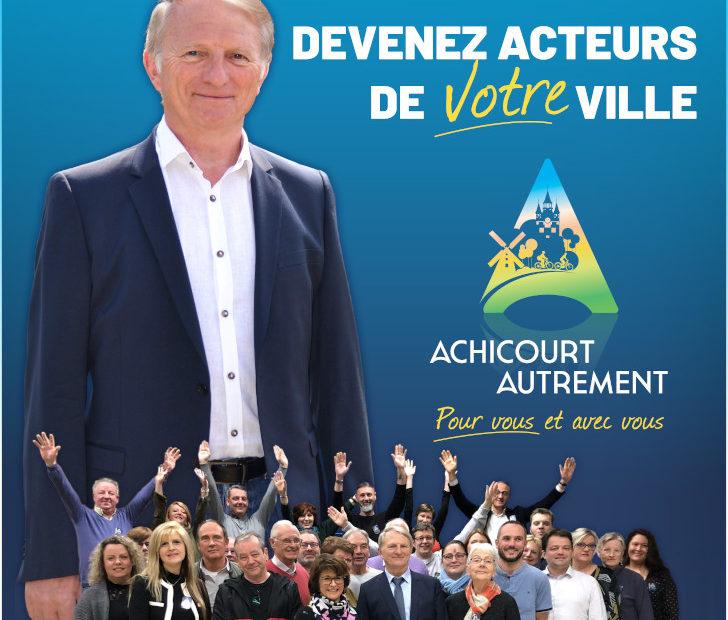 affiche du secont tour des élections municipales du 28 juin 2020